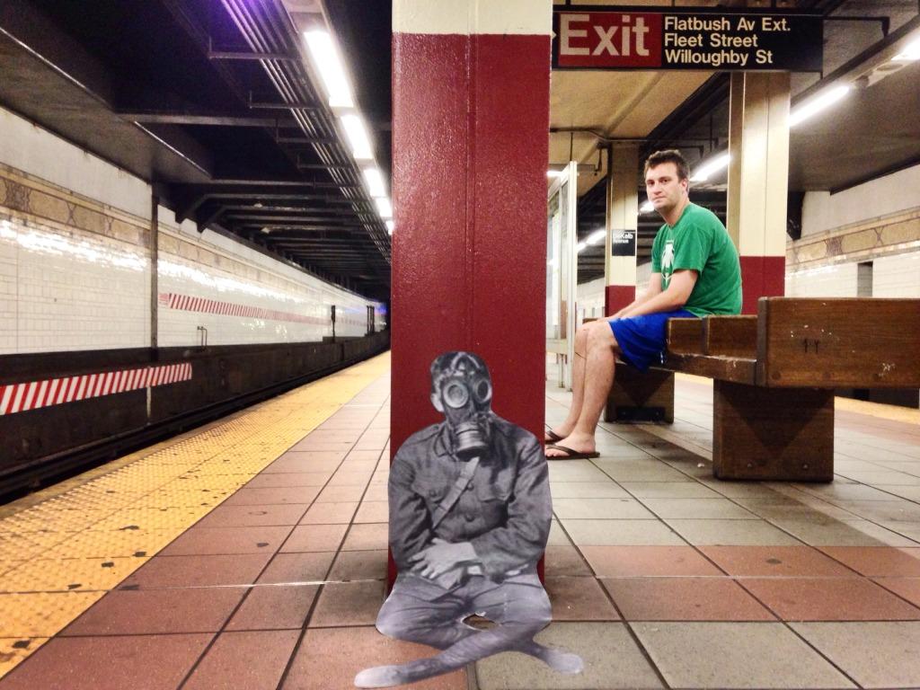 Dekalb Ave (Brooklyn bound BQR)