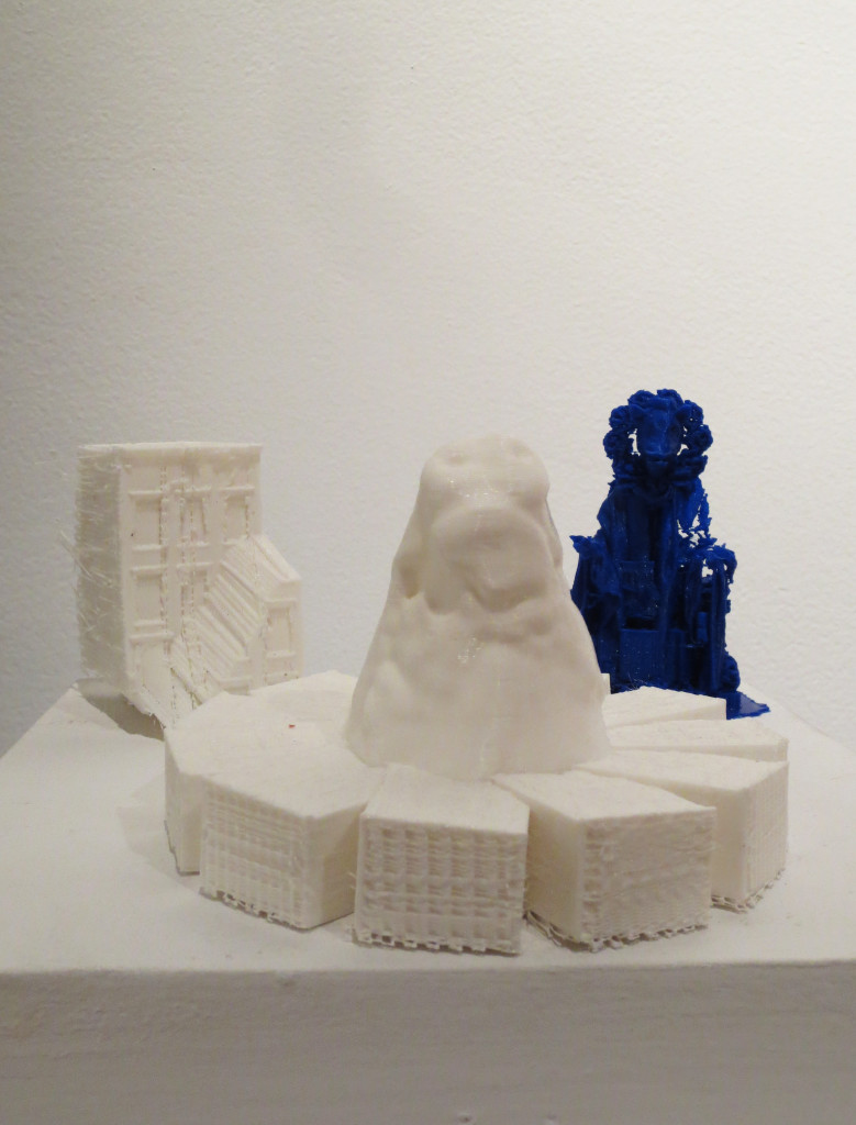Collaborative 3D prints by Gaia & Pablo Gnecco