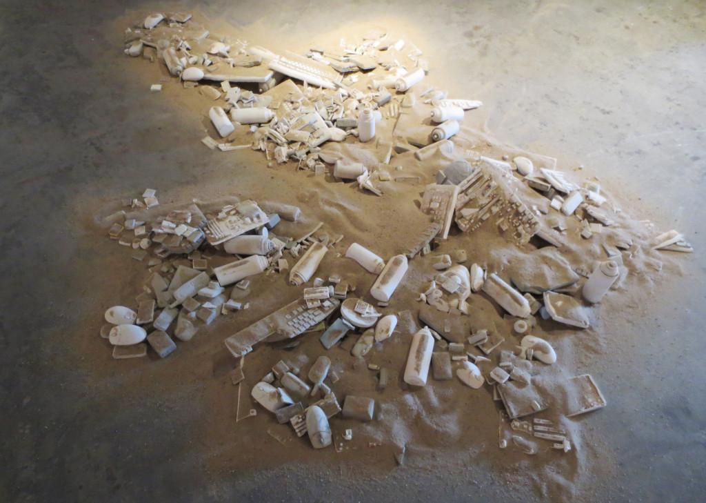 "Leon Reid IV & Ryan Seslow's ""Technophemera"" Installation in Process"